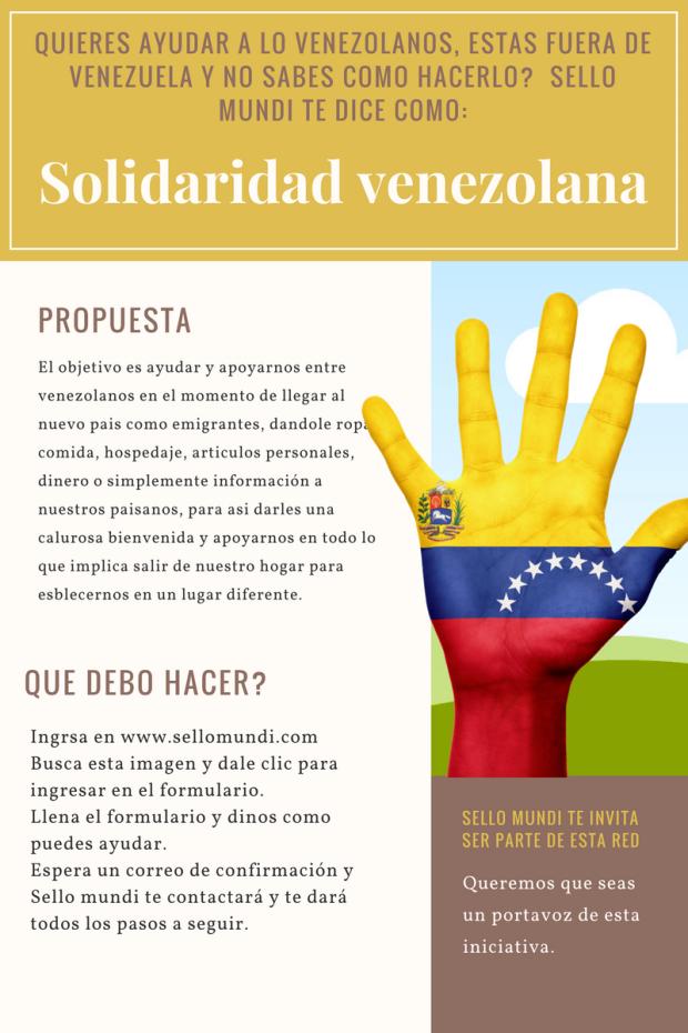 Solidaridad venezolana