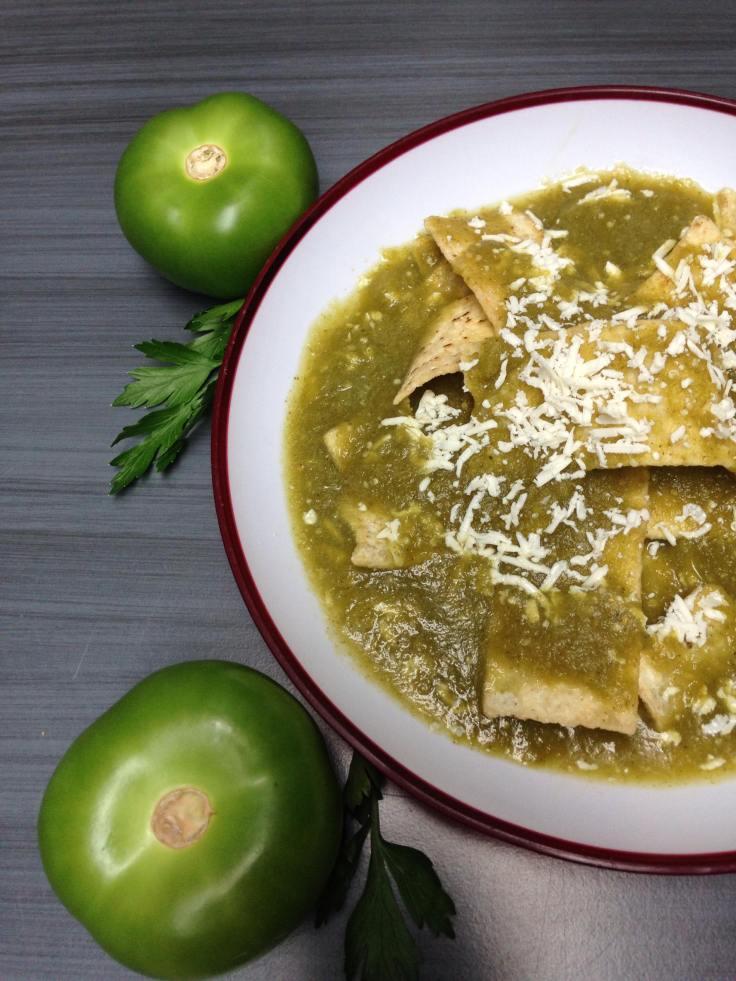Salsa de tomate verde mexicana