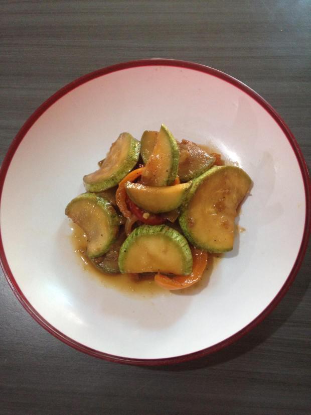 Vegetales estilo chop suey